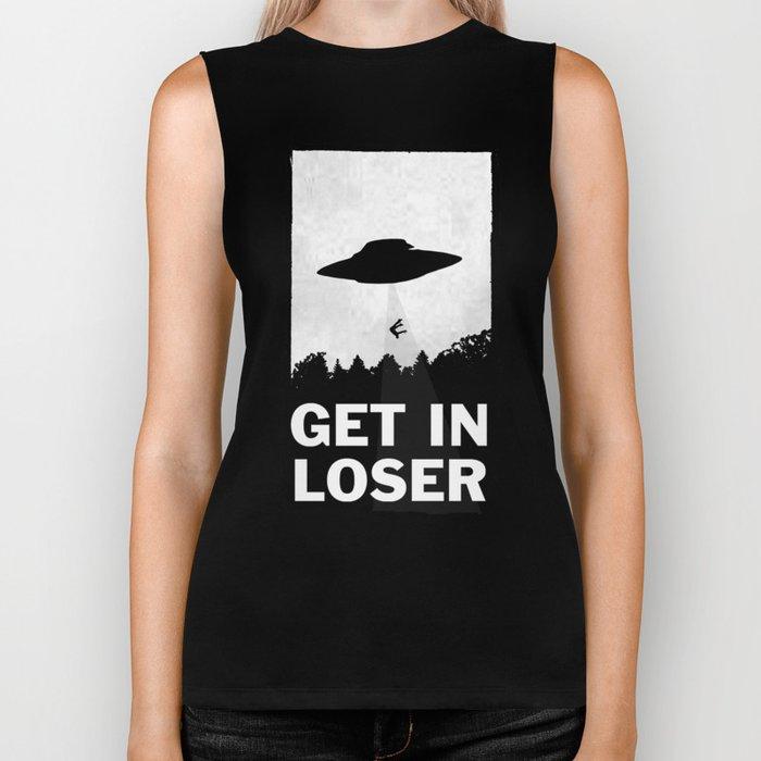 Get In Loser Biker Tank