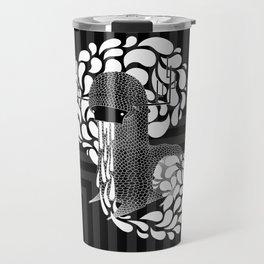 Gray Stone Monster: Transir Travel Mug