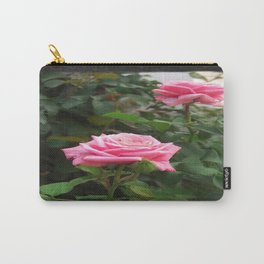 Pink Roses in Anzures 5  Blank P4F0 Carry-All Pouch