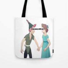 run away with me  Tote Bag