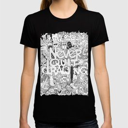 Doddle | Never Quit Drawing T-shirt