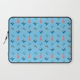 Edward Pattern Laptop Sleeve