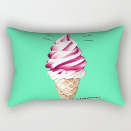 Yummy Ice Cream | Digital Art Rectangular Pillow