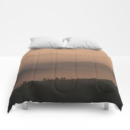 Mountain Love - Landscape and Nature Photography Comforters