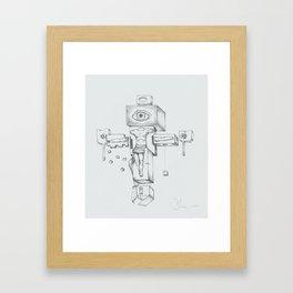 5-8-94 Framed Art Print