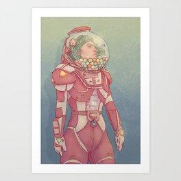 Gumballnaut Art Print