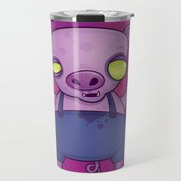 Zombie Pig Travel Mug