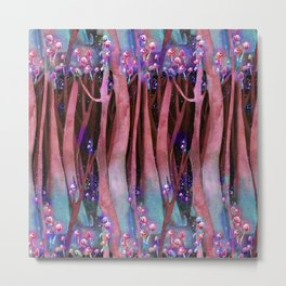 Pink Enchanted Forest Metal Print