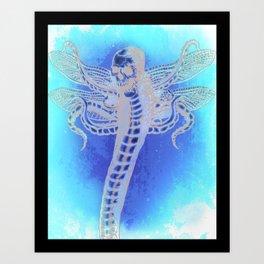 SERPENT LORD Art Print