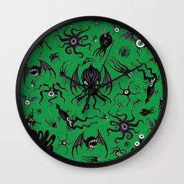 Cosmic Horror Critters Wall Clock