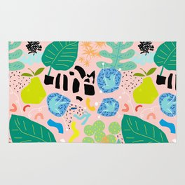 Abstract Orchard Rug