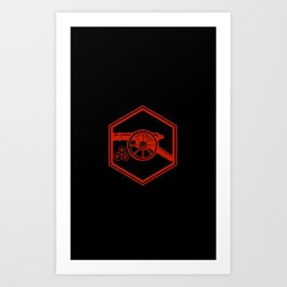 Arsenal Cannon Art Print