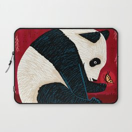 The Panda and the Butterfly Laptop Sleeve