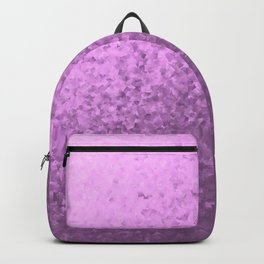 lilac collage of many small checks for a festive modern pattern Backpack