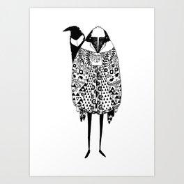 Skunkman Art Print
