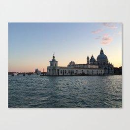 Punta Della Dogana Canvas Print