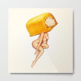 Twinkie Girl Metal Print