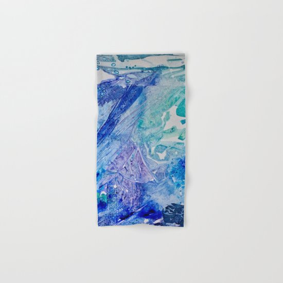 Water Scarab Fossil Under the Ocean, Environmental Hand & Bath Towel