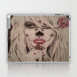 Modified Portrait of Pamela Anderson Laptop & iPad Skin