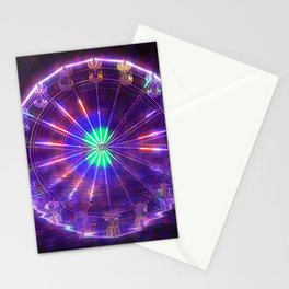 Ferris Wheel Reflection Stationery Cards