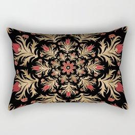 Turkish tulip - Ottoman tile 3 Rectangular Pillow