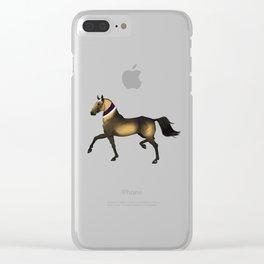 Trotting Alex Clear iPhone Case