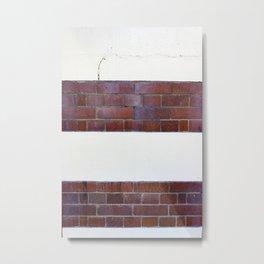Brick Wall Metal Print
