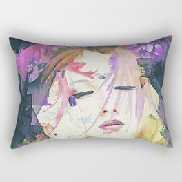 Path - Abstract Portrait Rectangular Pillow