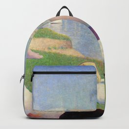 "Georges Seurat ""Bathers at Asnières"" Backpack"