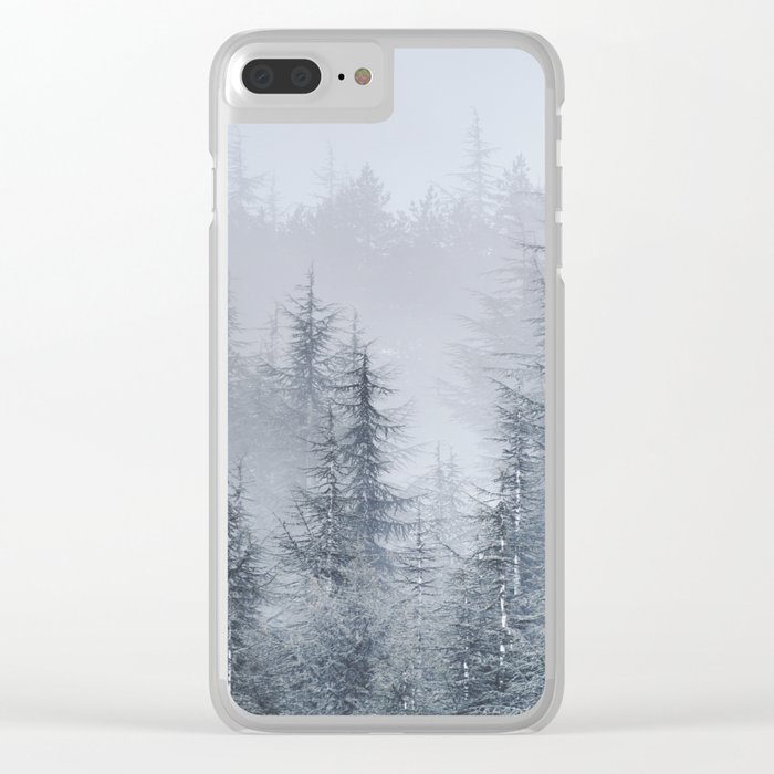 Early moorning... Into the woods Clear iPhone Case