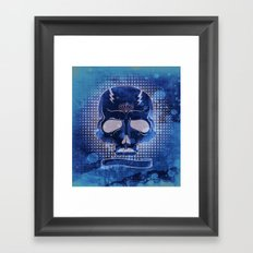 Ancient Skull Framed Art Print