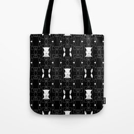 Gothic Textured Pattern Tote Bag