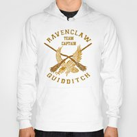 quidditch Hoodies featuring Ravenclaw quidditch team iPhone 4 4s 5 5c, ipod, ipad, pillow case, tshirt and mugs by Three Second