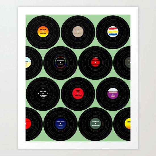 Vinyl Love Art Print