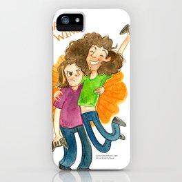 Game Grumps Hug iPhone Case