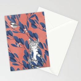 in the wild // repeat pattern Stationery Cards