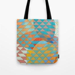 Triangle Pattern No. 11 Circles Tote Bag