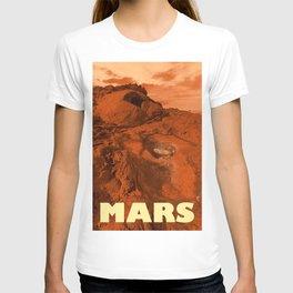 Mars landscape T-shirt