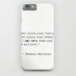 Herman Melville quotes 15 iPhone Case