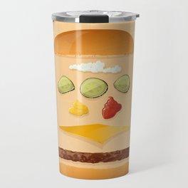 Classic Cheeseburger Travel Mug