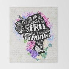 Jane Eyre - No Bird Throw Blanket