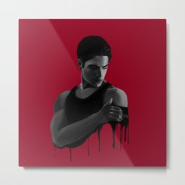 Bad Blood I Metal Print