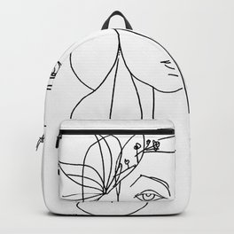 Head 1946 Abstract Fantasy Print Backpack