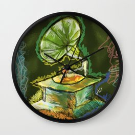 Old Gramophone Wall Clock