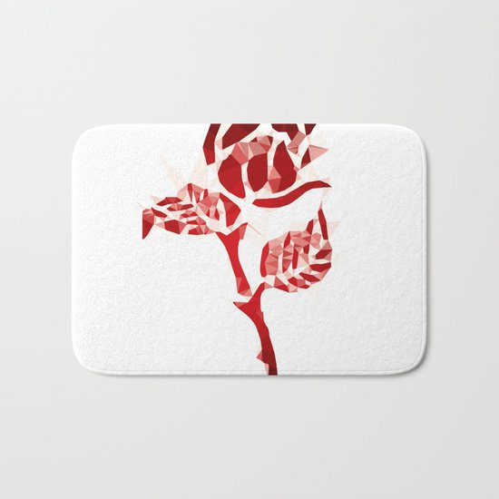 Rose Bath Mat