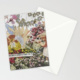 Here Comes the Sun Collage Stationery Cards