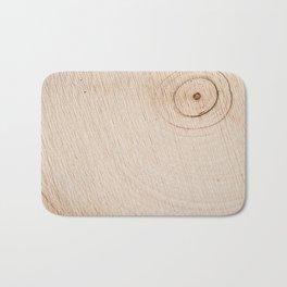 Real Wood Texture / Print Bath Mat