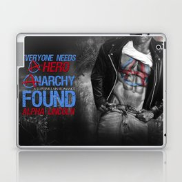 Anarchy Found (Superhero Romance)  - by JA Huss Laptop & iPad Skin