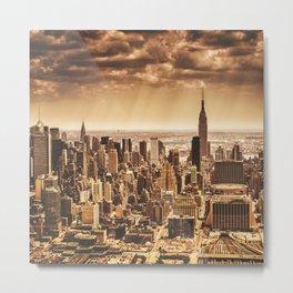 new york city building Metal Print