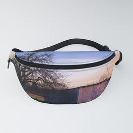 The wooden barn Fanny Pack